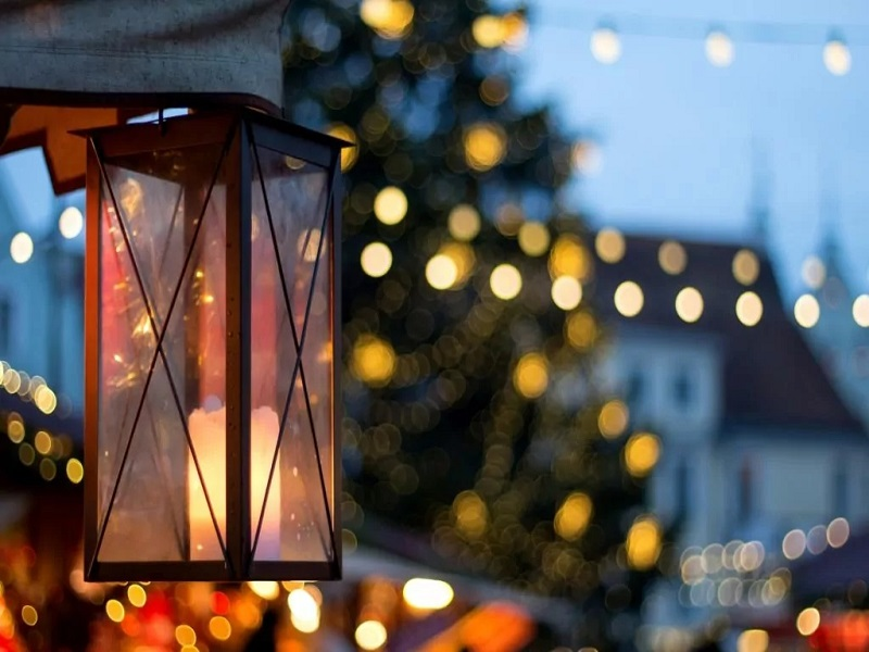 Julmarknad på Mårbacka