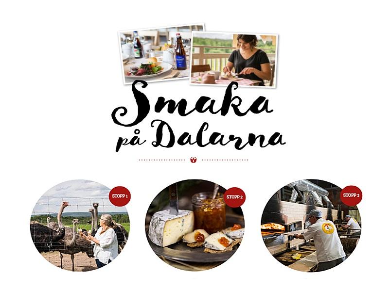 Smakresa till Dalarna