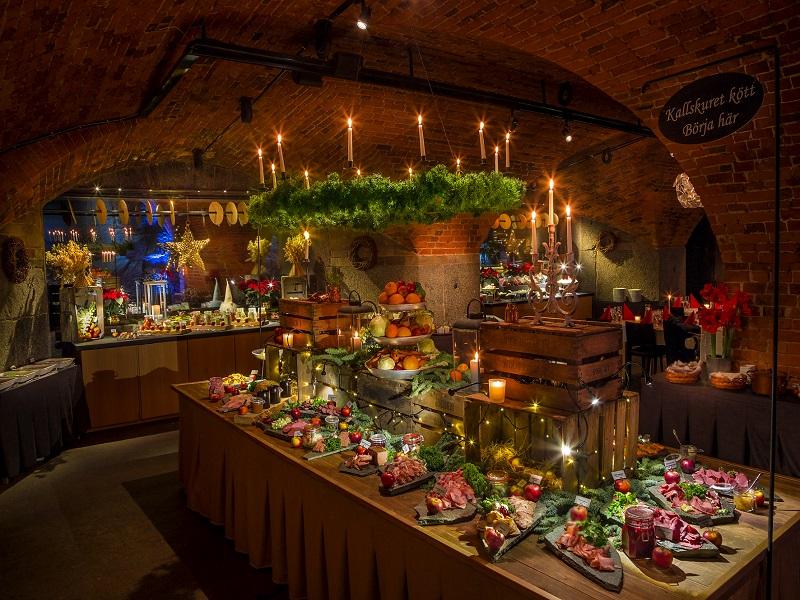 Julbord på Kastellet i Vaxholm