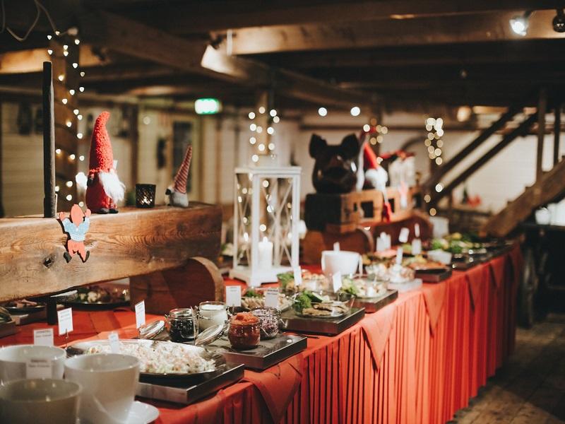 Julbord på Westerqwarn